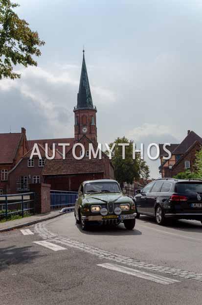 Automythos | 12. Hamburg Berlin Klassik 2019 | 107 | Dr. Christian Schoch & Meike Haferkamp | Saab 96 V4