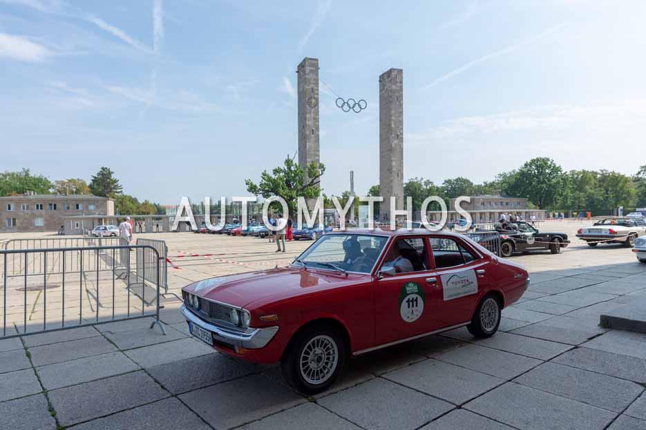 Automythos | 12. Hamburg Berlin Klassik 2019 | 111 | Tomas Hirschberger & Thomas Schalberger | Toyota Corona Mk II