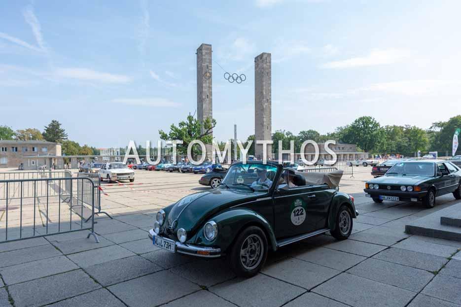 Automythos | 12. Hamburg Berlin Klassik 2019 | 122 | Ann-Sophie Lütten & Peer-Lasse Holdorf | Volkswagen 1303 LS Cabriolet