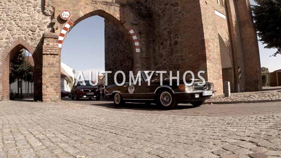 Automythos | 12. Hamburg Berlin Klassik 2019 | 129 | Peter Schmikale & Jochen Heller | Mercedes 500 SL