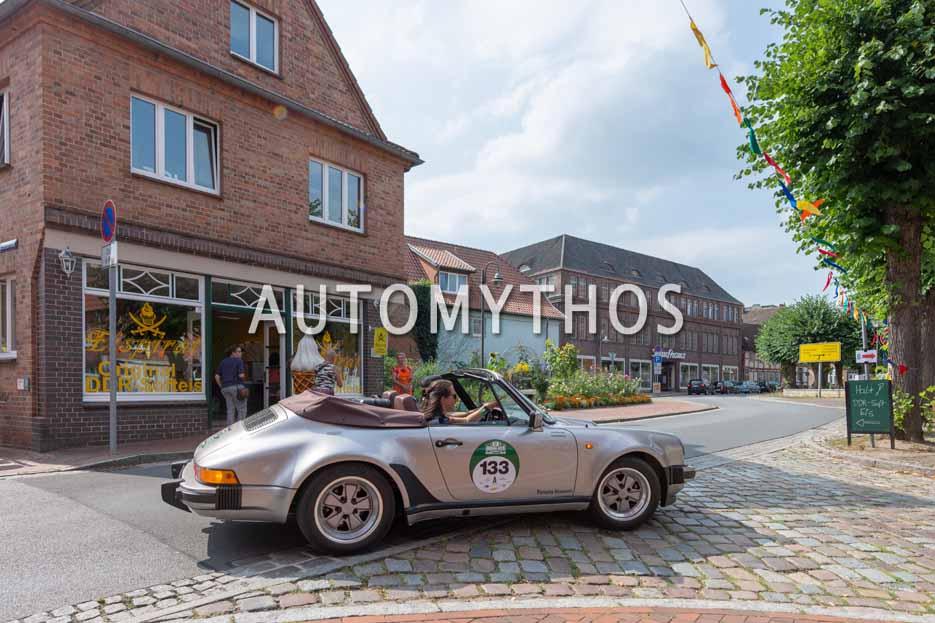 Automythos | 12. Hamburg Berlin Klassik 2019 | 133 | Frank Mahlberg & Astrid Böttinger | Porsche 911 Carrera Cabriolet Turbolook