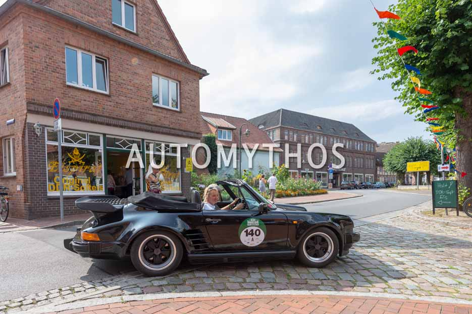 Automythos | 12. Hamburg Berlin Klassik 2019 | 140 | Uwe Freund & Christina Freund | Porsche 911 Cabriolet WTL