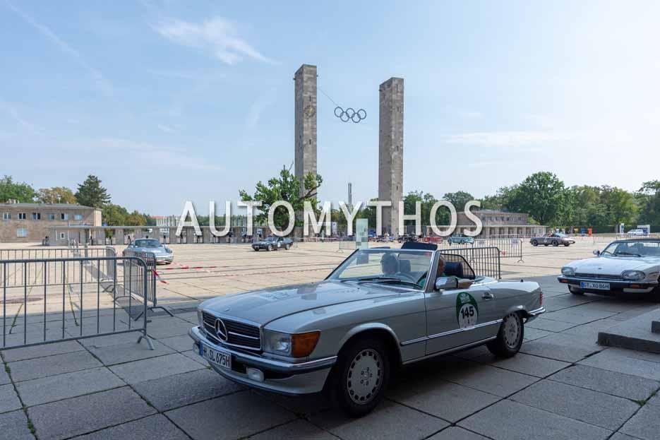 Automythos | 12. Hamburg Berlin Klassik 2019 | 145 | Bernd Frahm & Rita Steffen-Frahm | Mercedes 300 SL