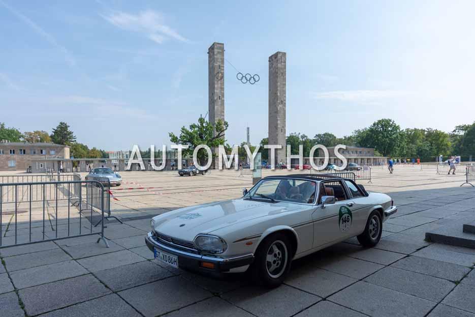Automythos | 12. Hamburg Berlin Klassik 2019 | 146 | Antje Hörmann & Karla Hörmann | Jaguar XJS Convertible