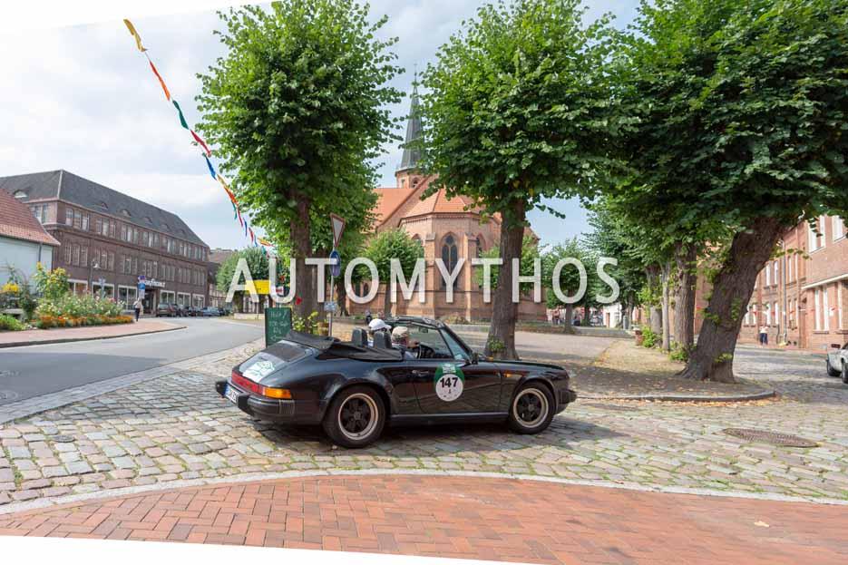 Automythos | 12. Hamburg Berlin Klassik 2019 | 147 | André Kanya & Volker von Courbière | Porsche 911 SC Cabriolet