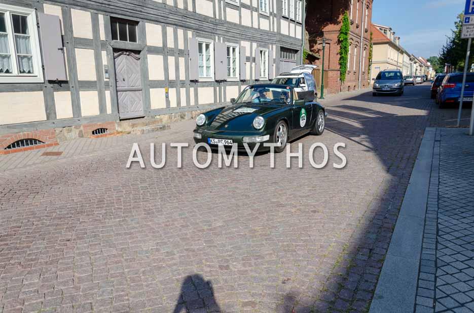 Automythos | 12. Hamburg Berlin Klassik 2019 | 152 | Christian Rösch & Christoph Holler | Porsche 911 Carrera 2 Cabriolet