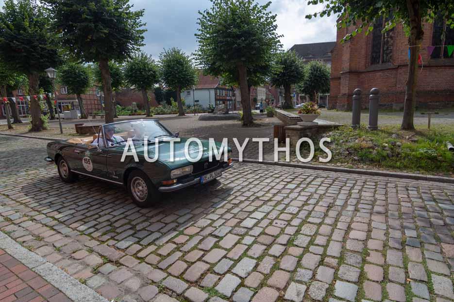 Automythos | 12. Hamburg Berlin Klassik 2019 | 155 | Christian Hölper & Paul Frederick Hölper | Peugeot 504 V6 Cabriolet
