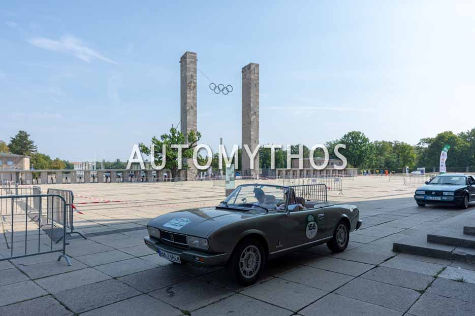 Automythos | 12. Hamburg Berlin Klassik 2019 | 156 | Michael Bunse & Melanie Hippler | Peugeot 504 TI Cabriolet