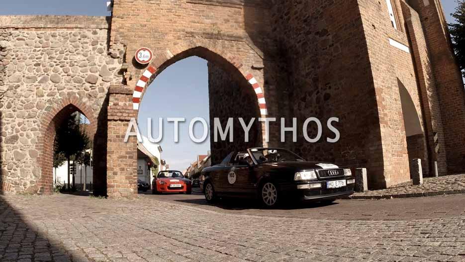 Automythos | 12. Hamburg Berlin Klassik 2019 | 165 | Dr. Wolfgang Bauer & Ute Metzger | Audi Cabriolet