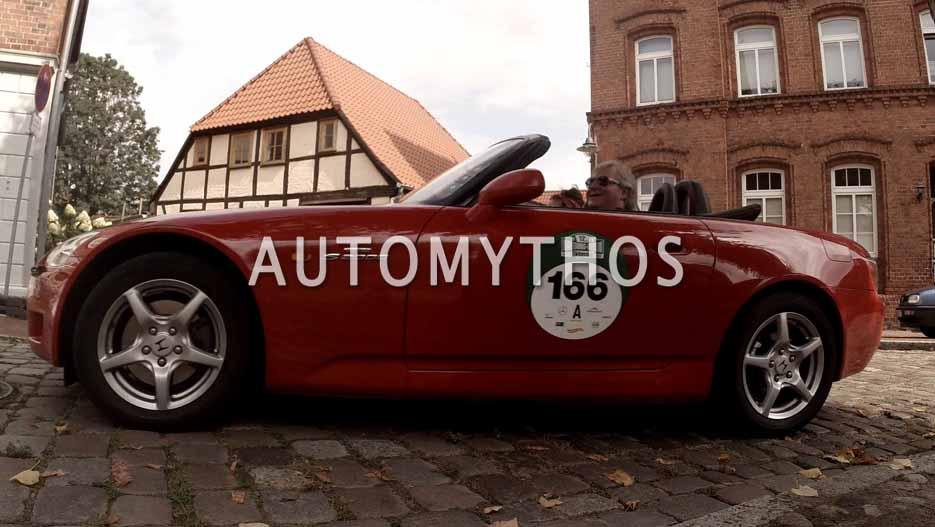 Automythos | 12. Hamburg Berlin Klassik 2019 | 166 | Franz Rössle & Lydia Rössle | Honda S2000