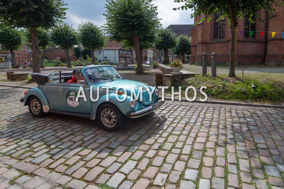 Automythos | 12. Hamburg Berlin Klassik 2019 | 167 | Susanne Jennrich & Christoph Wetzel | Volkswagen Käfer Cabriolet